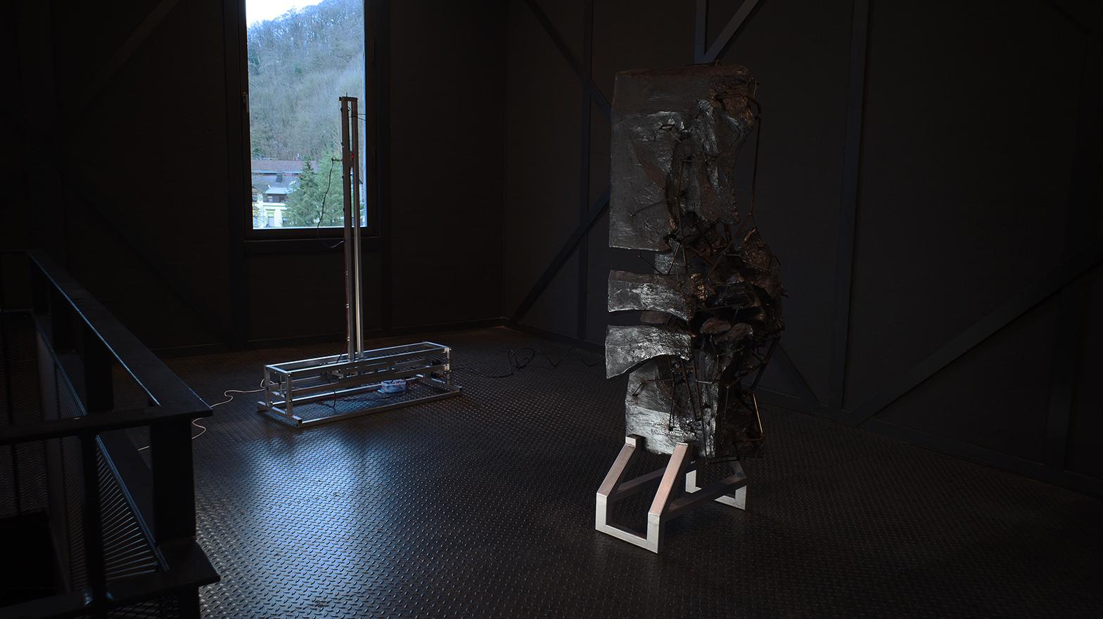 "Installation ""Interface"" von Paul Simon Heyduck (2019)"