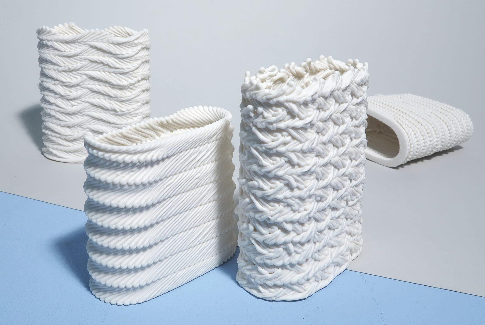 Porzellan-Objekte von Babette Wiezorek
