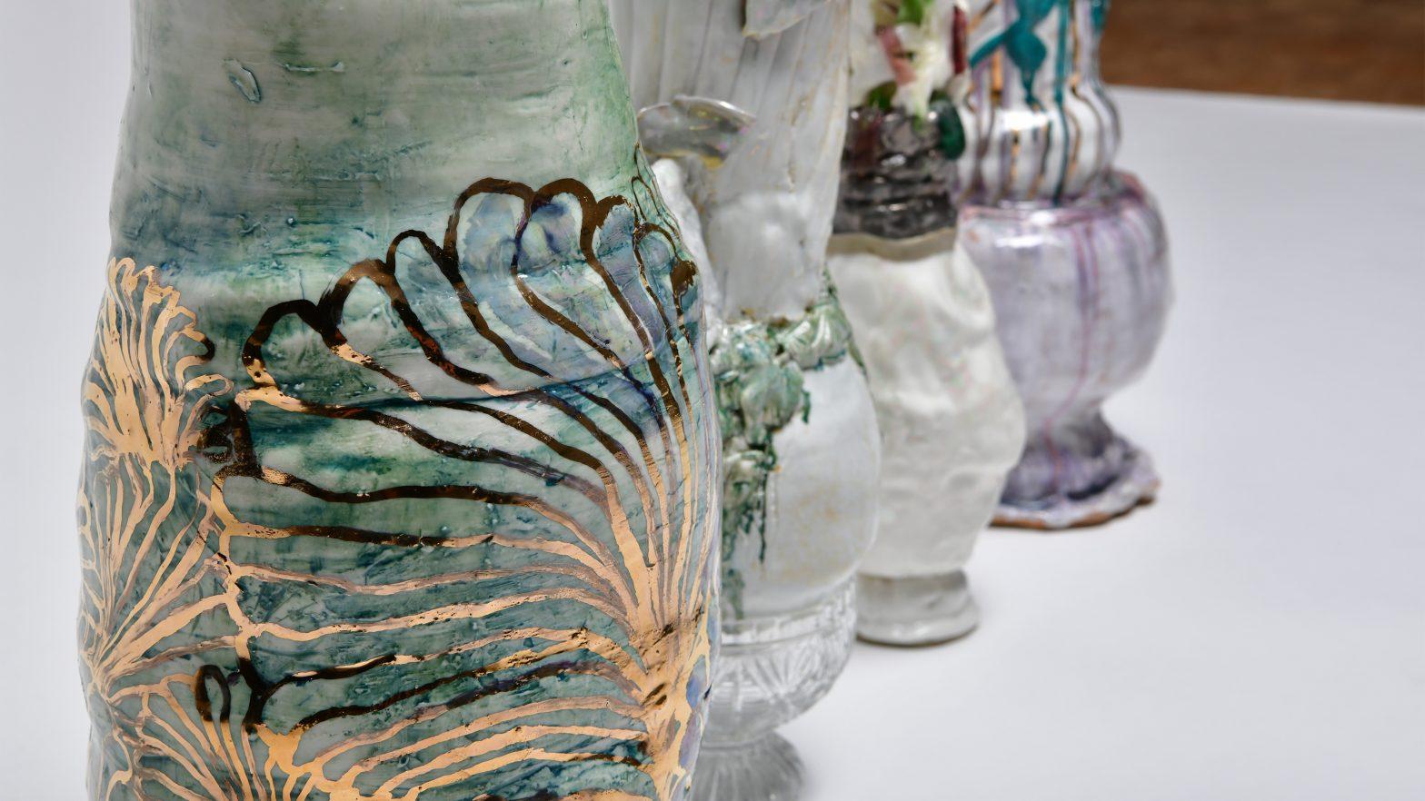 Vasenobjekt von Sarah Pschorn aus dem Jahr 2018